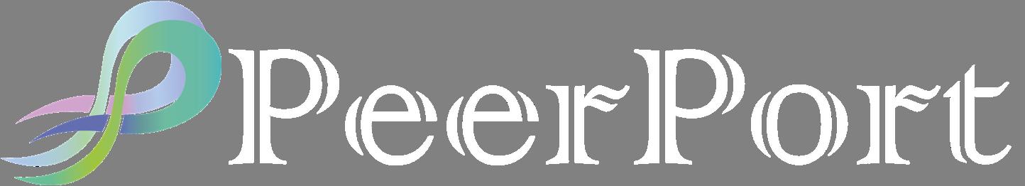 PP logo white text